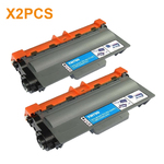 2PCS Toner Cartridges TN-750 (TN750) for Brother TN-750 Black